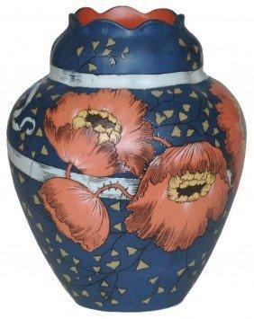 Art Nouveau Mettlach Vase