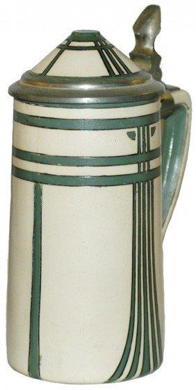 Art Nouveau Mettlach Stein