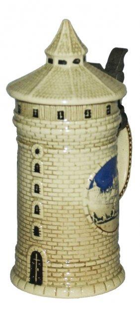 Nurnberg Tower 1/8l Character Stein