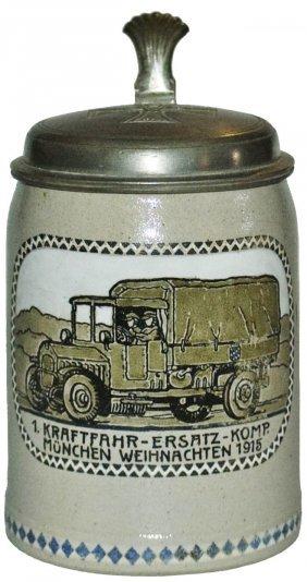 Early Army Truck Kraftfahr Komp Regimental Stein