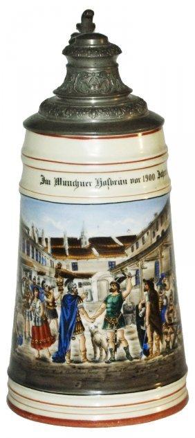 Early Munich Gathering W Gladiator Clothing Stein