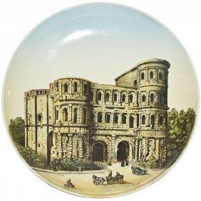 Porta Nigra Trier Mettlach Plaque