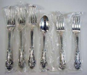 6 Sterlinng Silver Gorham La Scala