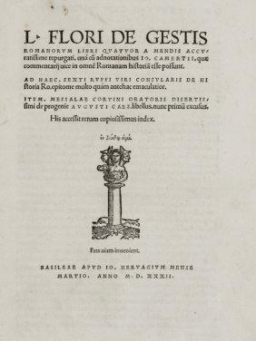 Florus Lucius Annaeus, Rufius Sextus, Messalla Cor