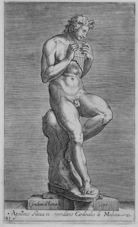 Alberti Cherubino, Antique Roman Sculptures