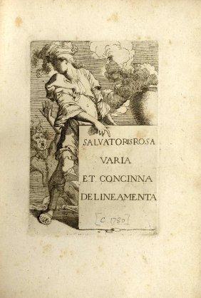 Salvatoris Rosa Varia Et Concinna Delineamenta