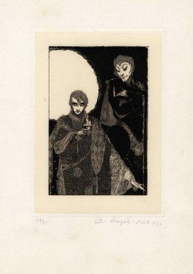 Nagel Diek, Quattro Illustrazioni Per Il Faust