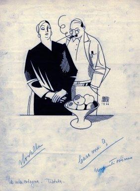 Carboni, La Mela Cotogna. Illustrazione