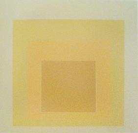 Josef Albers White Line Squares
