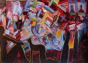 Carlos Almaraz Tea For Two, 1990