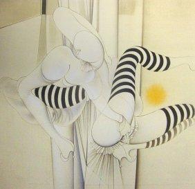 Hans Bellmer, Les Bas Reyes, 1974