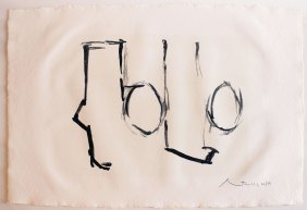 Robert Motherwell Spanish Elegy Ii