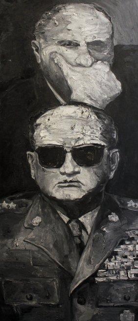 Robbie Conal General & Bureaucrat (poland)
