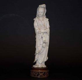 Chinese Ivory Kwan-yin