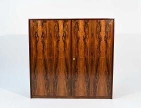Mid Century Modern Rosewood Cabinet