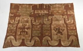 CHANCAY PAINTED TEXTILE