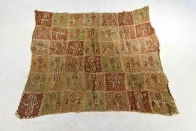 CHIMU PAINTED TEXTILE PANEL