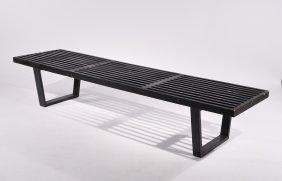 George Nelson; Herman Miller Slat Bench