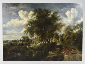 Meindert Hobbema Old Master Painting