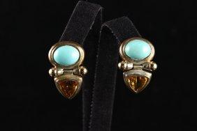 Vintage David Yurman Drop Earrings
