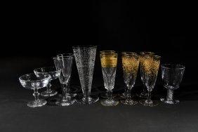 Crystal Glasses Incl. Steuben
