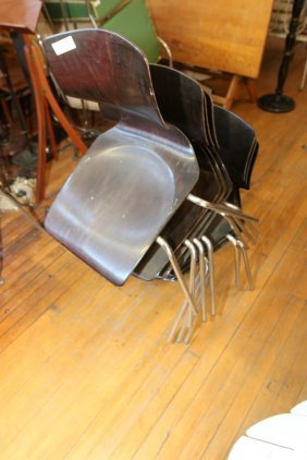 (7) Thonet Bentwood Chairs