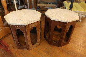 Pair Of End Tables In The Manner Of Harvey Probber