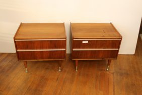 Pair Of Italian Style End Tables