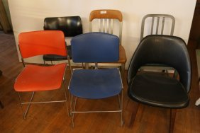 Grouping Of Chairs Etc.