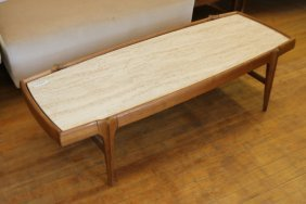 Bertha Schaefer Style Coffee Table