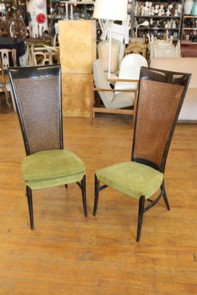 Manner Of Gio Ponti Style Chairs