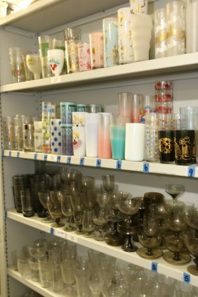 Large Grouping Of 1950's Glassware.