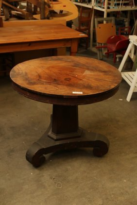 Vintage Round Empire Style Table.
