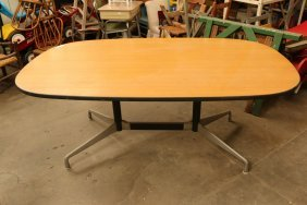 Eames Herman Miller Aluminum Conference Table