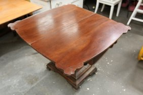 Empire Style Flip Top Table.