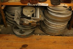 Grouping Of Film Reels.