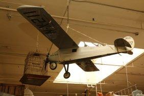 Model Single Propeller Air Plane.