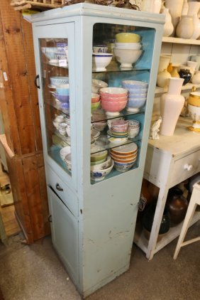Antique Medical Cabinet.