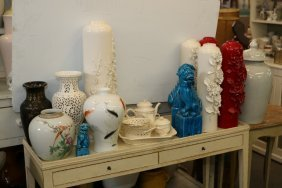 Grouping Of Chinese And Japanese Porcelain.