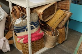 Lot Of Misc Baskets.