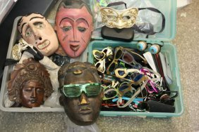 Grouping Of Sunglasses, Along With A Grouping Of