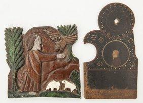 Elijah Pierce Folk Art Carving Plus
