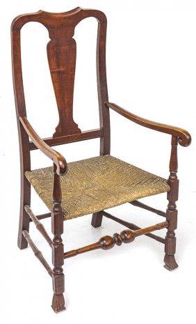 American Queen Anne Arm Chair