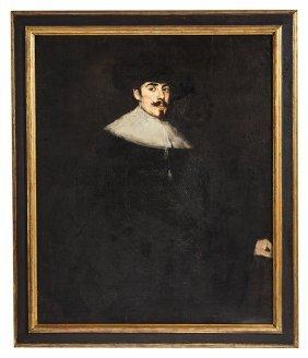 Important Frank Duveneck (1848-1919) Oil