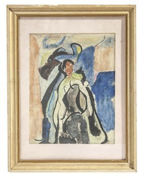 Georges Rouault (1871-1958) Watercolor