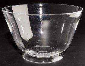 Steuben Punch Bowl/center Bowl