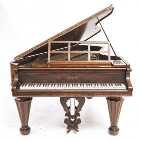 Chickering Rosewood Top Hat Piano