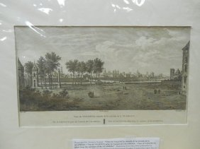 View Of Valencia From Entrance Of Alameda 1811