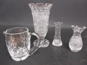 4 Misc Waterford Crystal Items