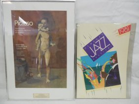 2 Posters, Picasso & Newport Jazz Festival